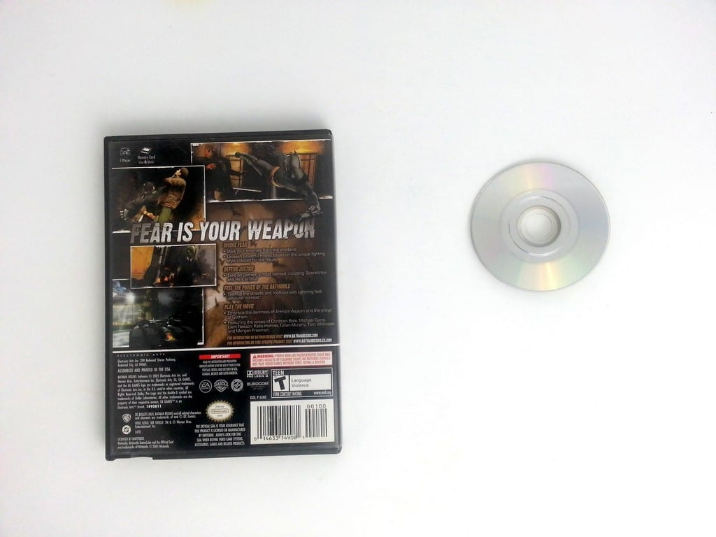 Batman Begins game for Gamecube   The Game Guy