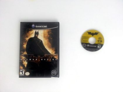 Batman Begins game for Nintendo Gamecube -Game & Case