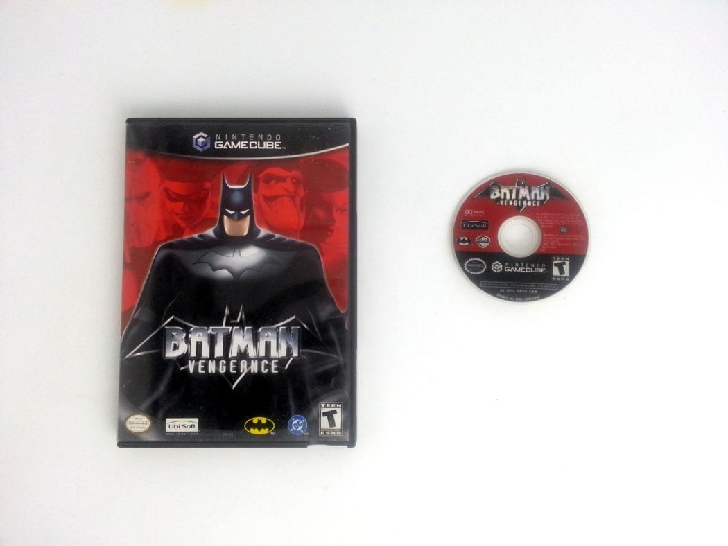 Batman Vengeance game for Nintendo Gamecube -Game & Case