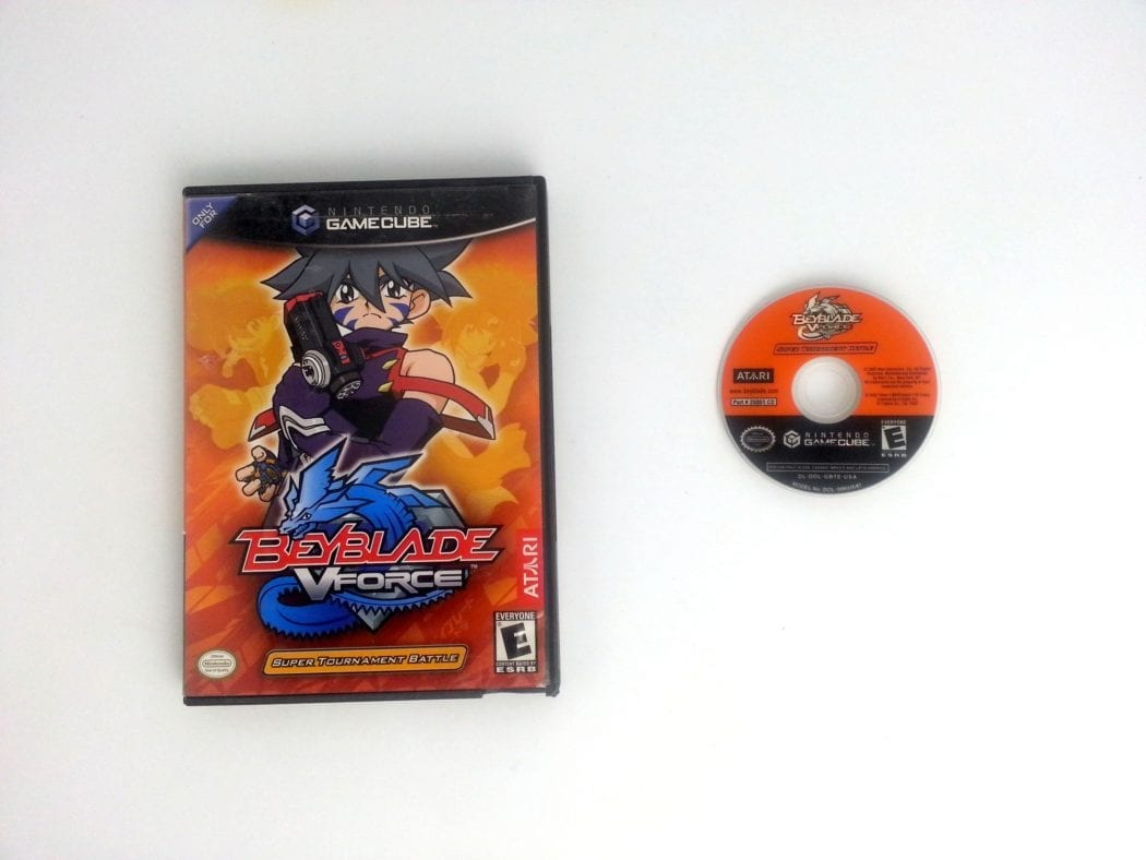 Beyblade V Force game for Nintendo Gamecube -Game & Case