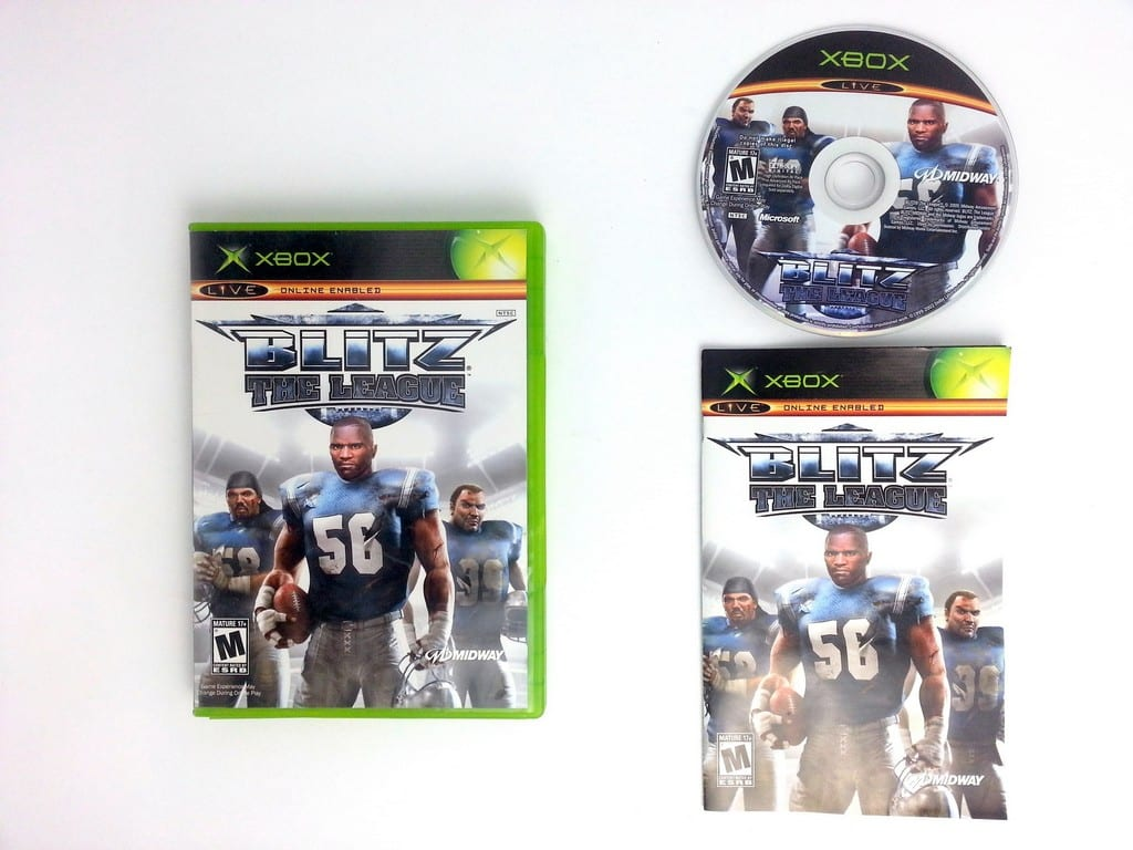 Blitz the League game for Microsoft Xbox -Complete