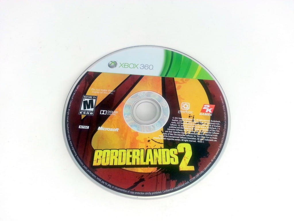 Borderlands 2 game for Microsoft Xbox 360 - Loose