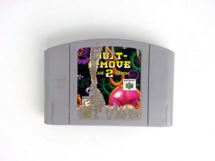Bust-A-Move 2 game for Nintendo 64 N64 - Loose