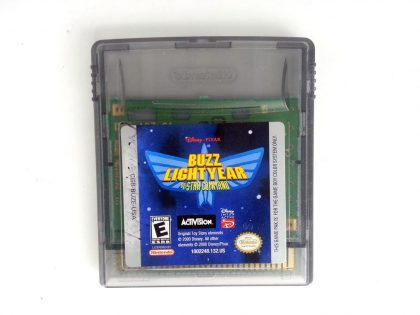Buzz Lightyear of Star Command game for Nintendo GameBoy Color - Loose