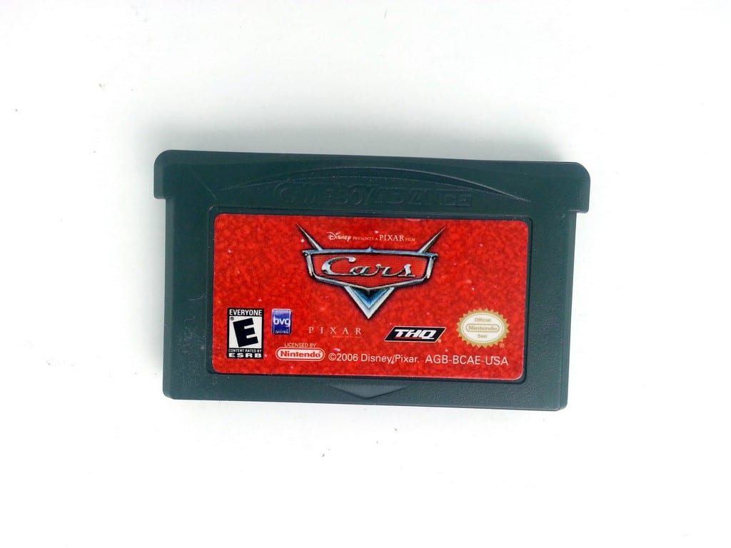 Cars game for Nintendo Gameboy Advance - Loose