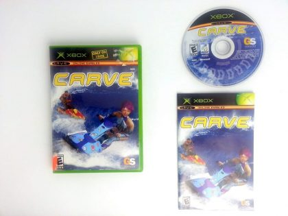 Carve game for Microsoft Xbox -Complete