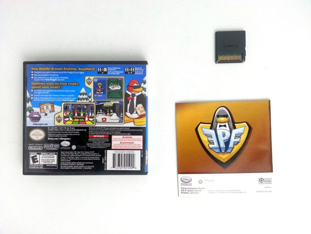 Club Penguin: Elite Penguin Force game for Nintendo DS (Complete) | The Game Guy