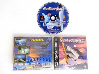 Cool Boarders 2001 game for Sony Playstation PS1 PSX -Complete