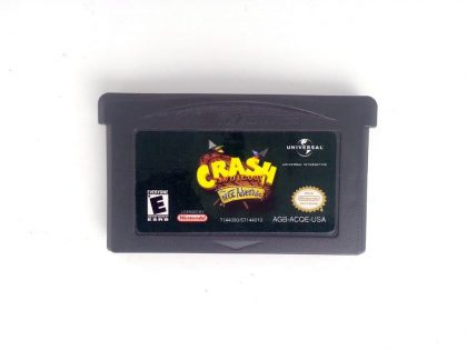 Crash Bandicoot the Huge Adventure game for Nintendo Gameboy Advance - Loose