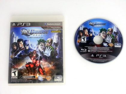DC Universe Online game for Sony Playstation 3 PS3 -Game & Case