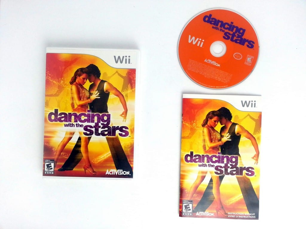 Dancing with the Stars game for Nintendo Wii -Complete