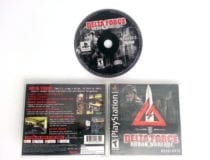 Delta Force Urban Warfare game for Sony Playstation PS1 PSX -Complete