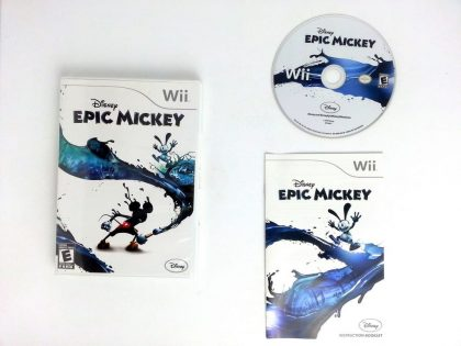 Disney Epic Mickey game for Nintendo Wii -Complete