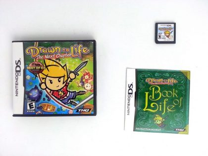 Drawn to Life: The Next Chapter game for Nintendo DS -Complete