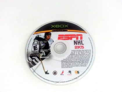 ESPN NHL 2K5 game for Microsoft Xbox - Loose