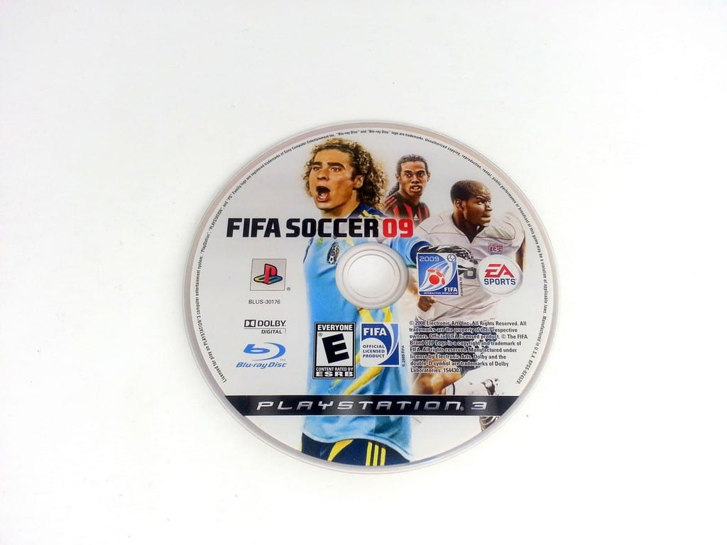 FIFA Soccer 09 game for Sony Playstation 3 PS3 - Loose