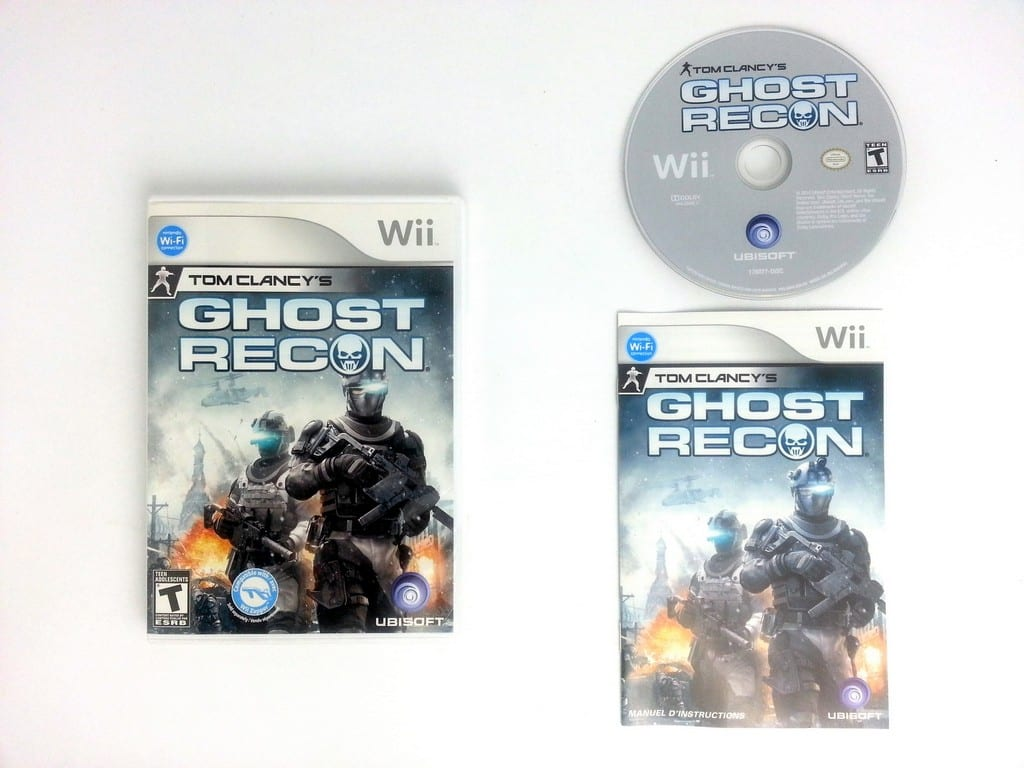 ghost recon game for wii (complete) | the game guy