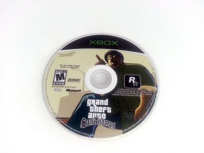 Grand Theft Auto San Andreas game for Microsoft Xbox - Loose
