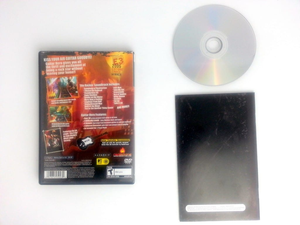 Guitar Hero game for Playstation 2 (Complete) | The Game Guy