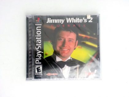 Jimmy White's 2 Cueball game for Sony Playstation PS1 PSX - New