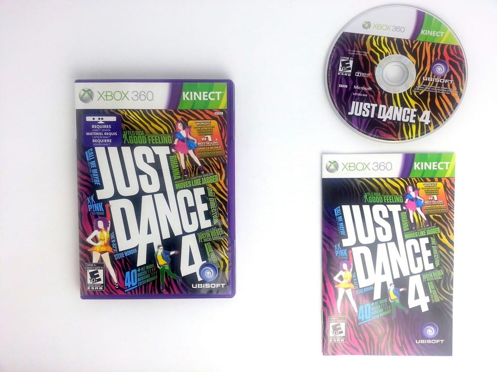 Just Dance Game For Xbox 360 : Just dance 4 game for xbox 360 complete the game guy