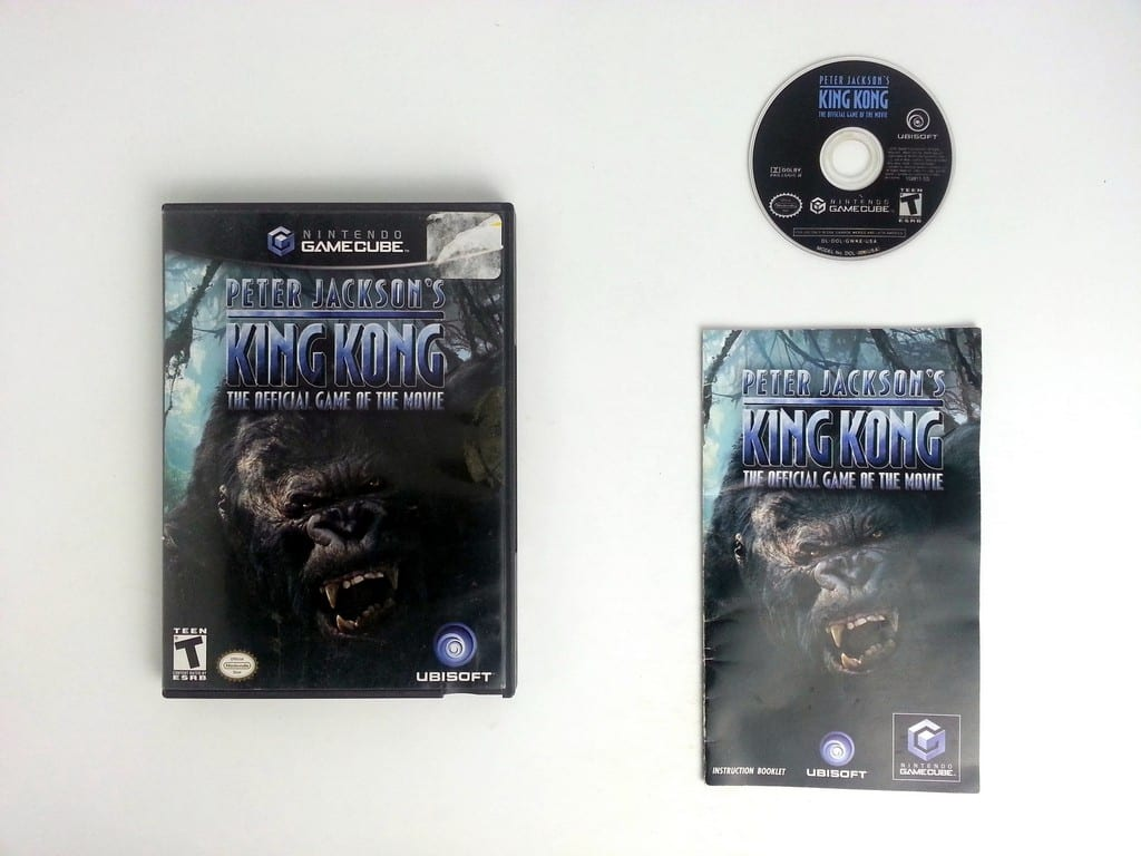 King Kong the Movie game for Nintendo Gamecube -Complete