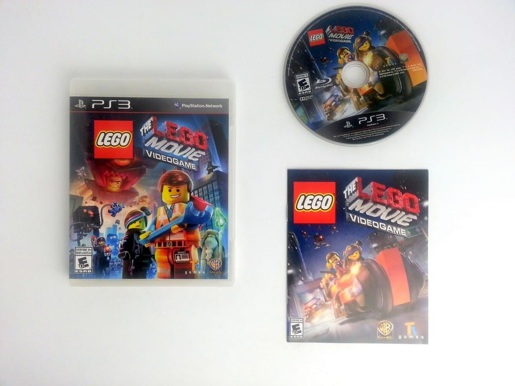 lego movie videogame game for playstation 3 complete