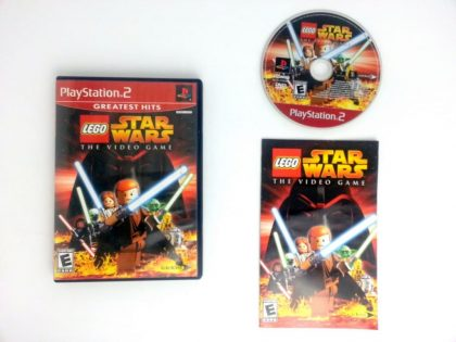 LEGO Star Wars game for Sony Playstation 2 PS2 -Complete