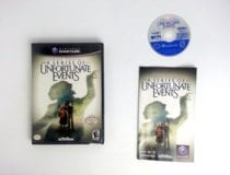 Lemony Snicket's A Series of Unfortunate Events game for Gamecube Complete