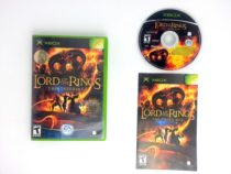 Lord of the Rings Third Age game for Microsoft Xbox -Complete