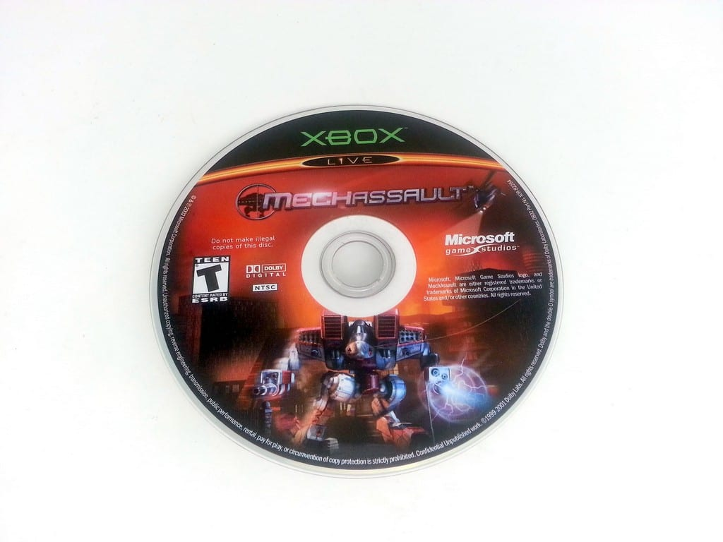 MechAssault game for Microsoft Xbox - Loose
