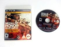 Medal of Honor Warfighter Limited Edition game for Playstation 3 PS3 -Game&Case