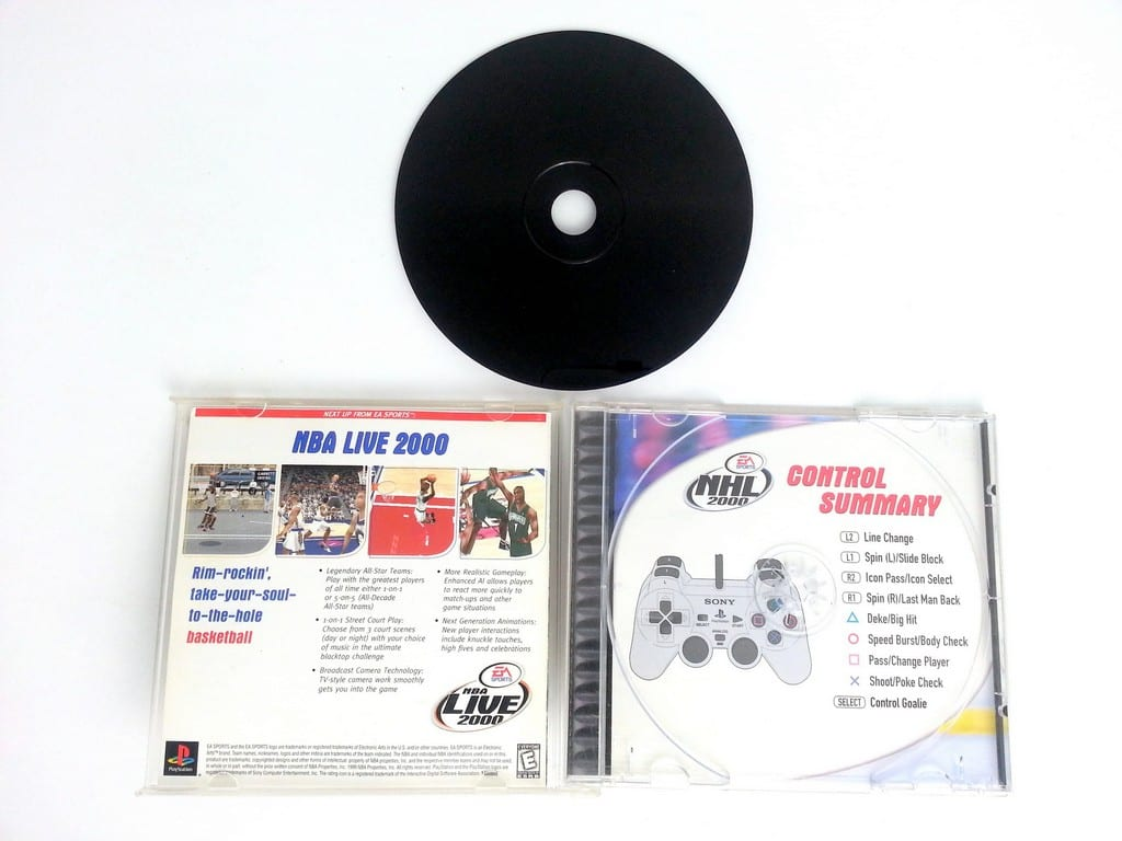 NHL 2000 game for Playstation (Complete) | The Game Guy