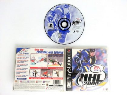 NHL 2000 game for Sony Playstation PS1 PSX -Complete