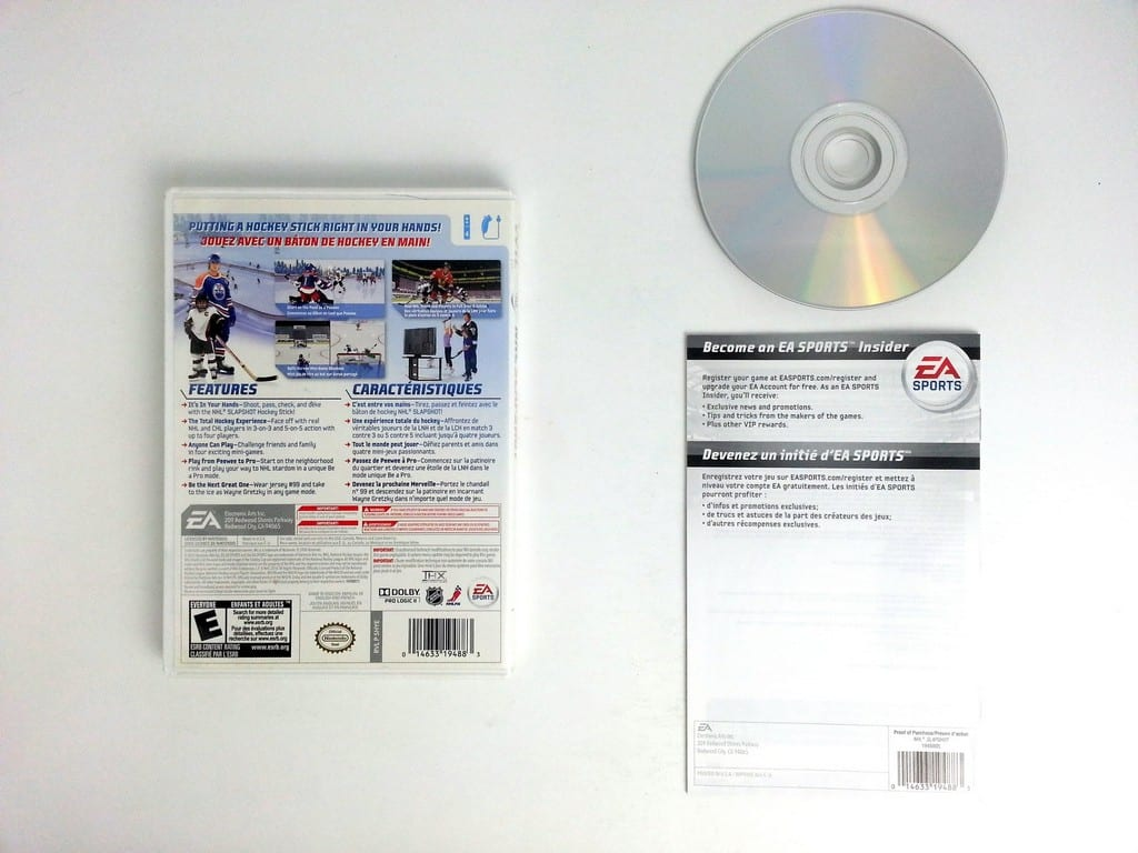 NHL Slapshot game for Wii (Complete)   The Game Guy