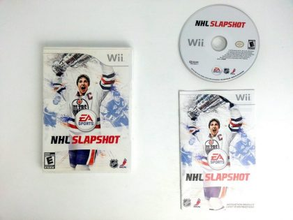 NHL Slapshot game for Nintendo Wii -Complete