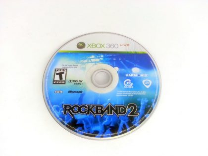 Rock Band 2 (game only) game for Microsoft Xbox 360 - Loose