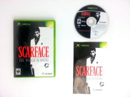 Scarface the World is Yours game for Microsoft Xbox -Complete