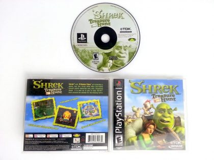 Shrek Treasure Hunt game for Sony Playstation PS1 PSX -Complete