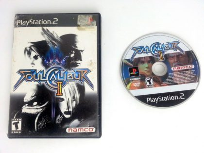 Soul Calibur II game for Sony Playstation 2 PS2 -Game & Case