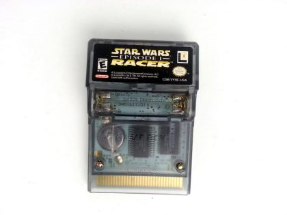 Star Wars Episode I Racer game for Nintendo GameBoy Color - Loose