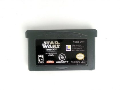 Star Wars Trilogy Apprentice Of The Force game for Gameboy GBA - Loose