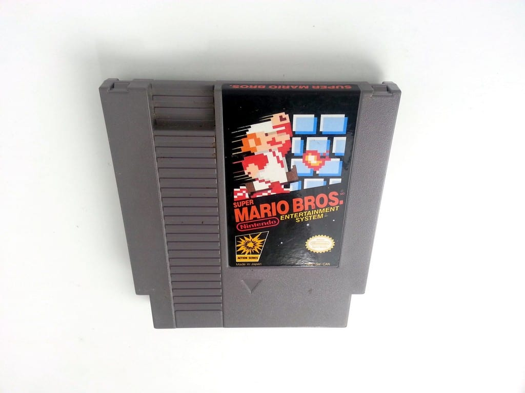 Super Mario Bros game for Nintendo NES - Loose