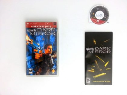 Syphon Filter Dark Mirror game for Sony PSP -Complete