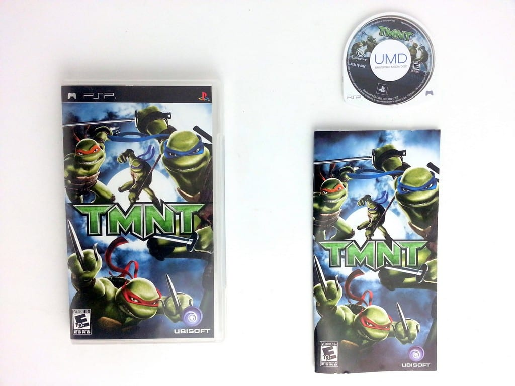 Teenage Mutant Ninja Turtles game for Sony PSP -Complete