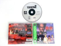 Tekken 2 game for Sony Playstation PS1 PSX -Complete