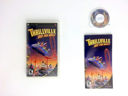 Thrillville game for Sony PSP -Complete
