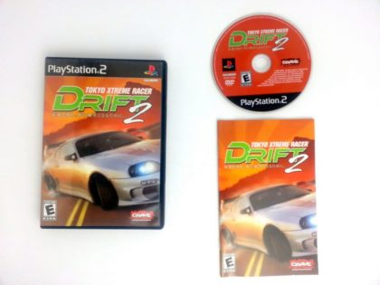 Tokyo Xtreme Racer Drift 2 game for Sony Playstation 2 PS2 -Complete