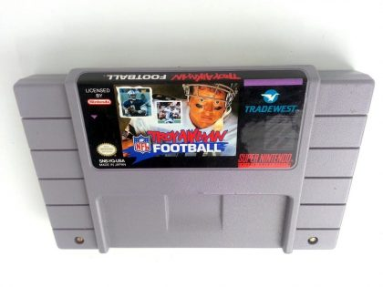 Troy Aikman NFL Football game for Super Nintendo SNES - Loose