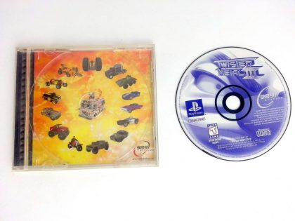 Twisted Metal 3 game for Sony Playstation PS1 PSX -Game & Case
